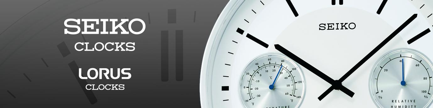 Seiko-Clocks